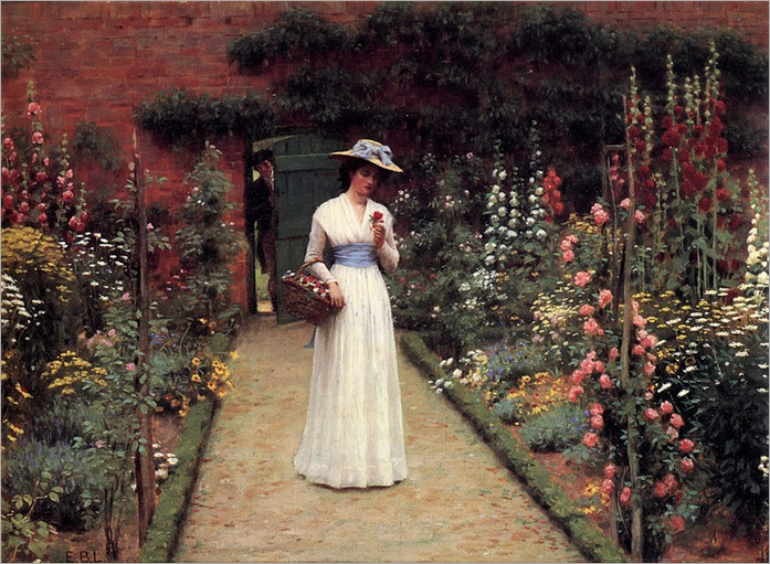 eighton-Lady_in_a_Garden