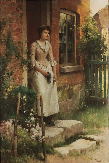 Expectation by Alfred Augustus Glendening (1893)