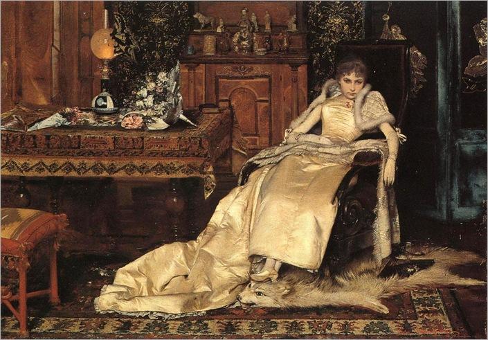 Gabriel Schachinger (1850-1912) - Pene d'amore