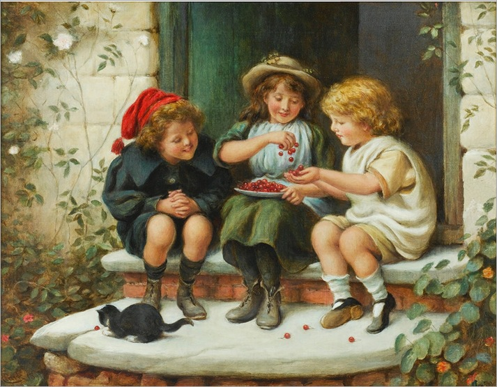 James Clark. Three Little Kittens
