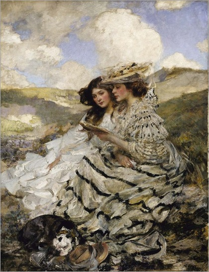 James Jebusa Shannon, On the Dunes, (1910)
