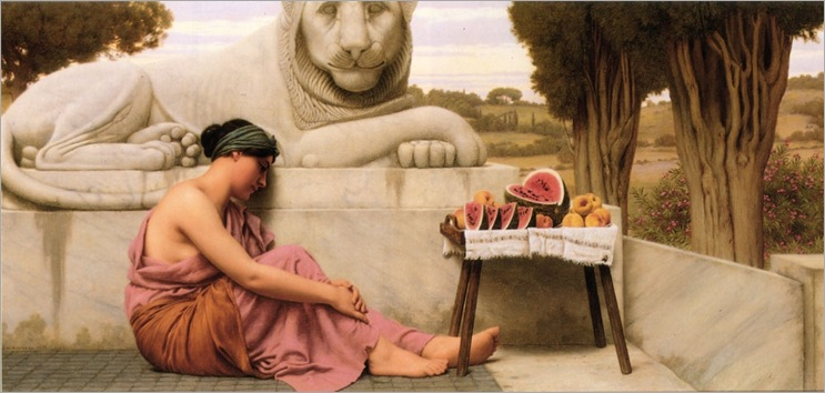 John_William_Godward_1861-1922_-_The_Fruit_Vendor