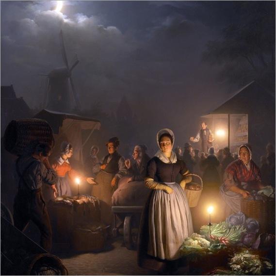 Les couleurs de la nuit -Petrus van Schendel