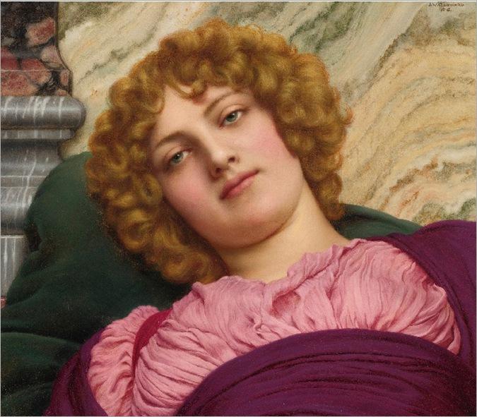 Myrhinna (1915)-Godward