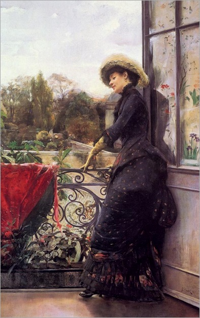On The Terrace - Julius LeBlanc Stewart