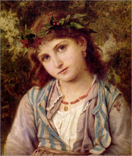 Sophie Anderson - An Autumn Princess