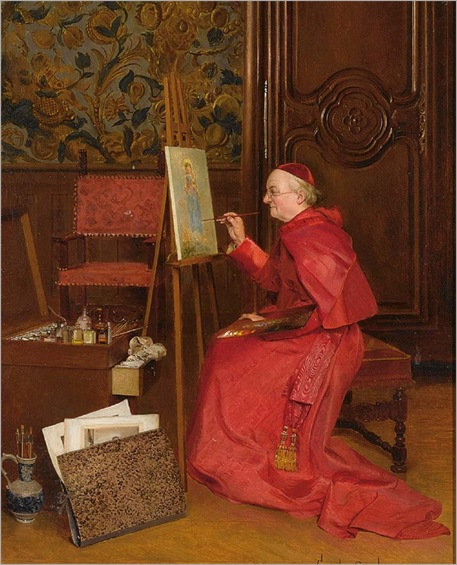 the-artist-at-work-Georges-Croegaert
