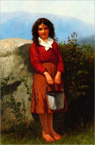 The Berry Picker-John-George-Brown