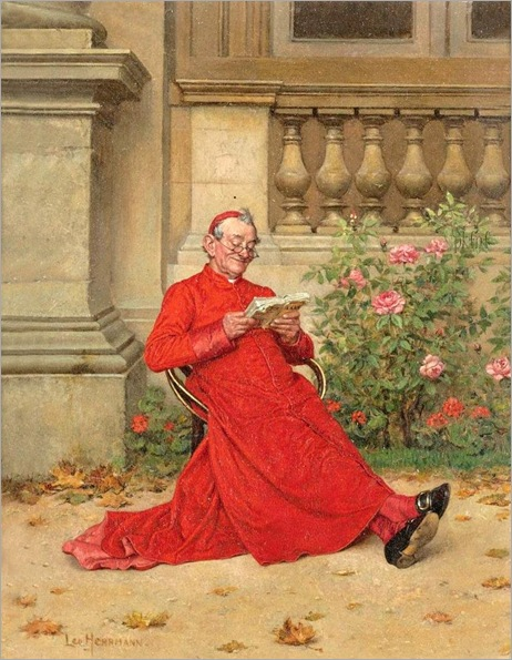 The Cardinal Reading 'Nana' - Leo Herrmann