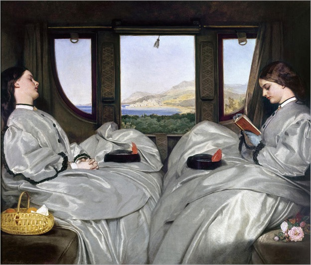 The Travelling Companions - 1862 - Augustus Leopold Egg (english painter)