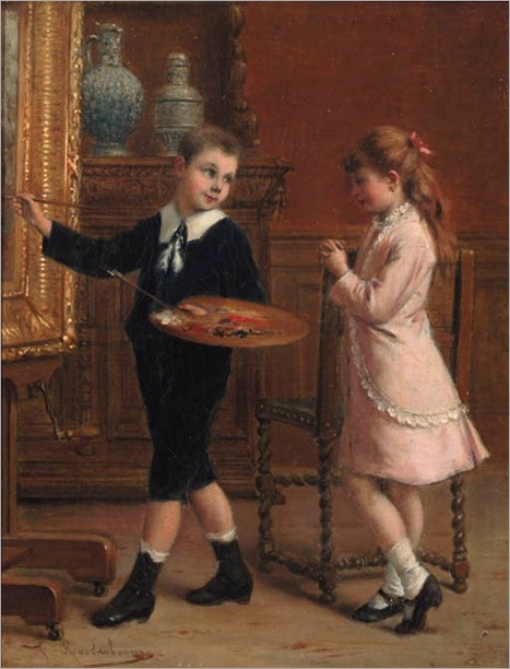 The young artist-albert-roosenboom-