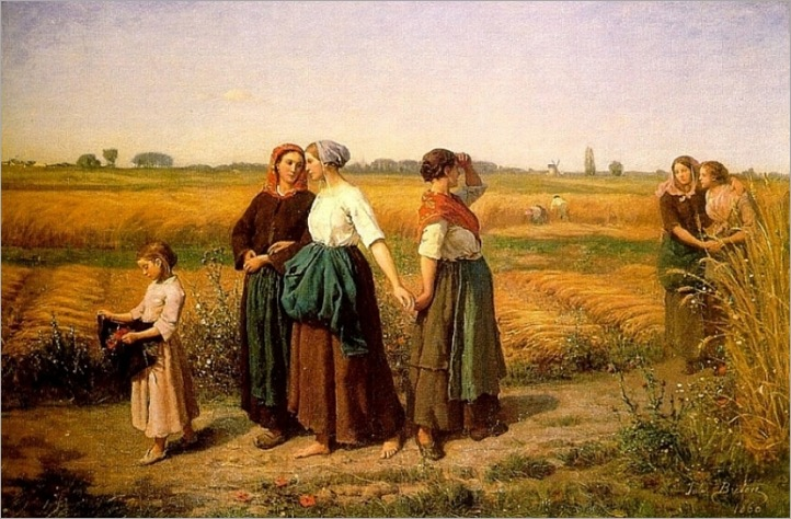 the_reapers- Jules Breton (french, 1827-1906)