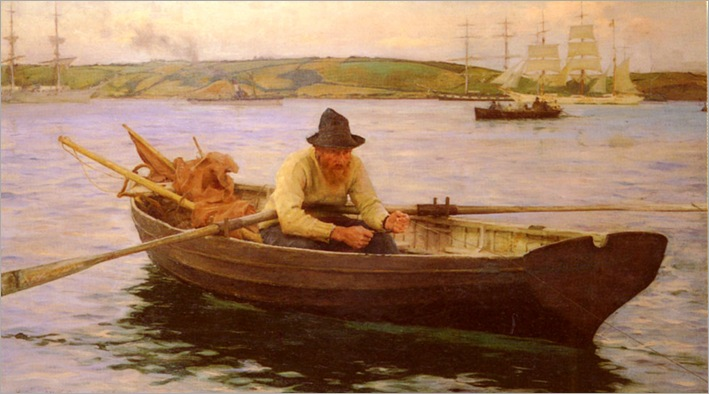 Tuke-Henry-Scott-The-Fisherman