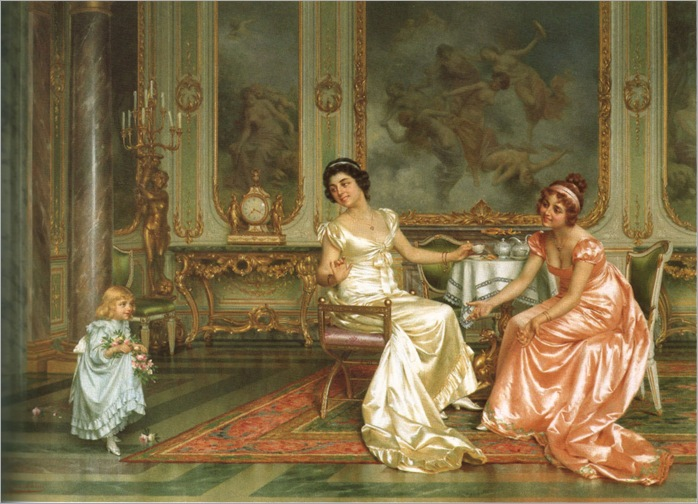 Vittorio Reggianini (Italian,1858-1938), The Birthday