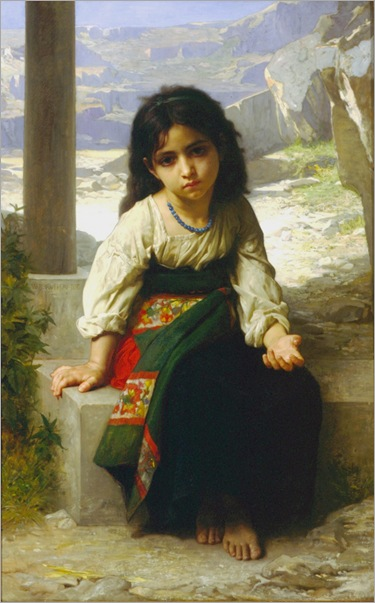 William-Adolphe_Bouguereau_(1825-1905)_-_La_Petite_Mendiante_(1880)