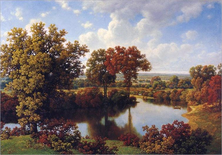 William Mason Brown - Autumn Reflections