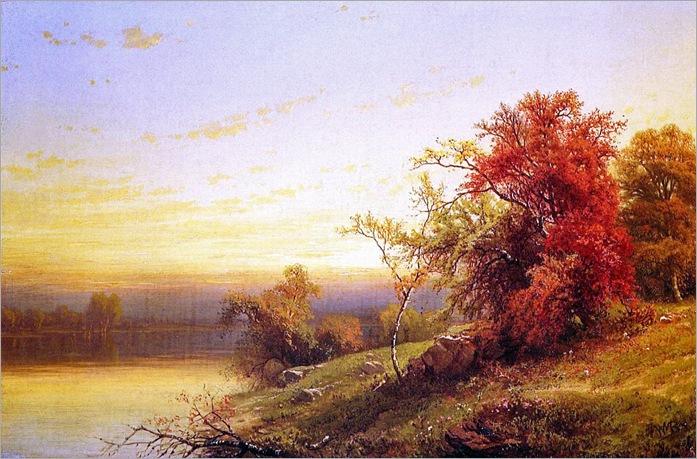 William Mason Brown - Autumnal Landscape