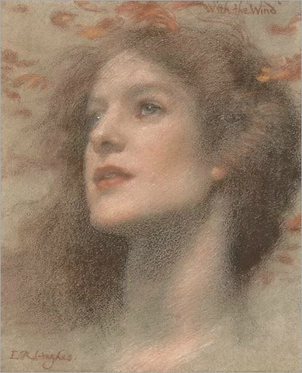 with the wind-Edward Robert Hughes