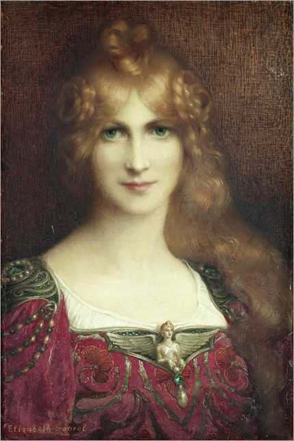 a young lady-Elisabeth Sonrel
