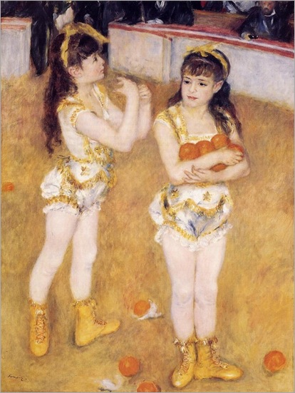 Acrobats at the Cirque Fernando - 1879 - Pierre-Auguste Renoir (french)