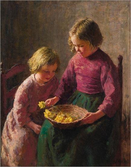 Bernhard Pothast- The flower basket