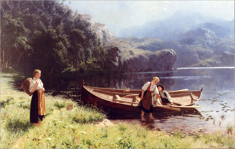 By the Waters Edge - Hans Dahl