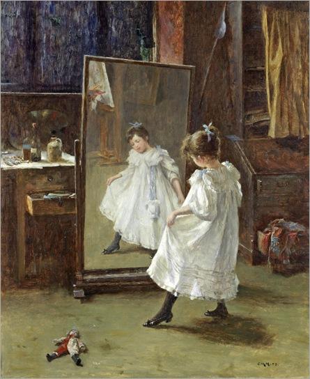 Charles Martin Hardie (scottish, 1858-1916)- The Studio Mirror 1898