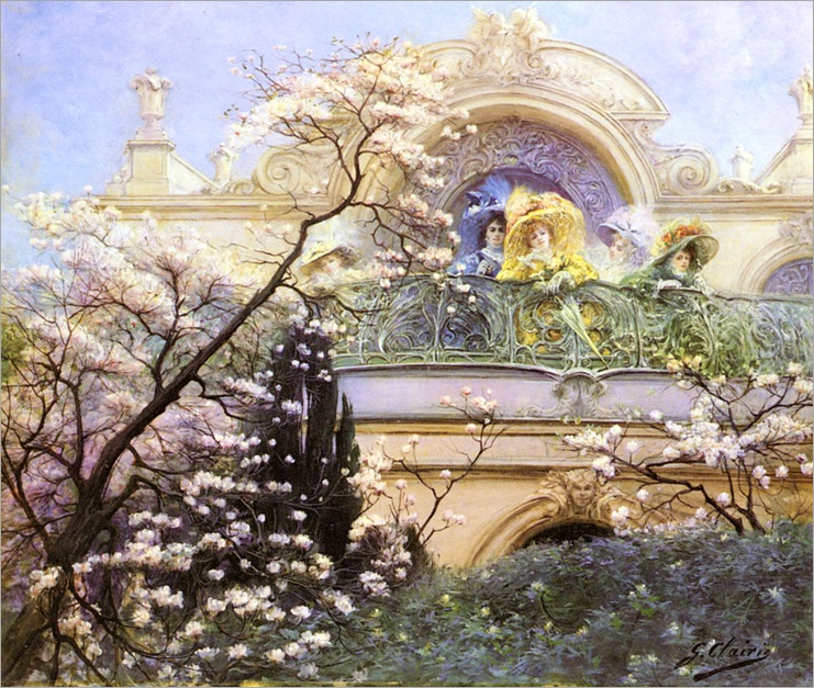 Clairin_Georges_Jules_Victor_On_The_Balcony