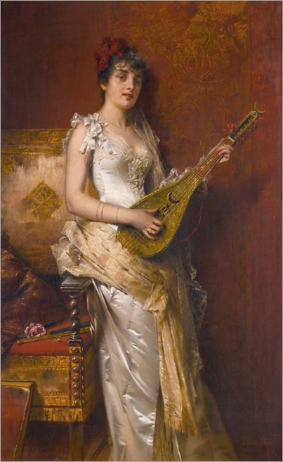 Conrad Kiesel (1846 - 1921) - Daydreams