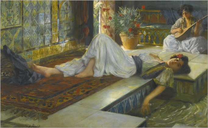 Ferdinand Max Bredt - afternoon repose