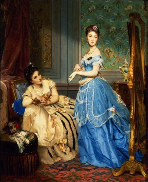 Getting_Dressed_1869_by_Charles_Edouard_Boutibonne