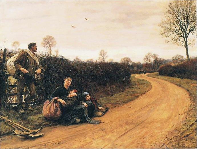 Hard Times - Hubert von Herkomer-1885