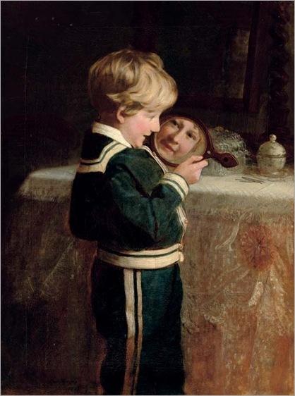 I see you!, Frederick Morgan. English (1847 - 1927)