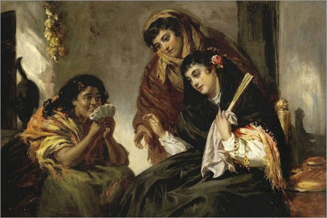 john-phillip (scottish-1817-1867)-the-fortune-teller