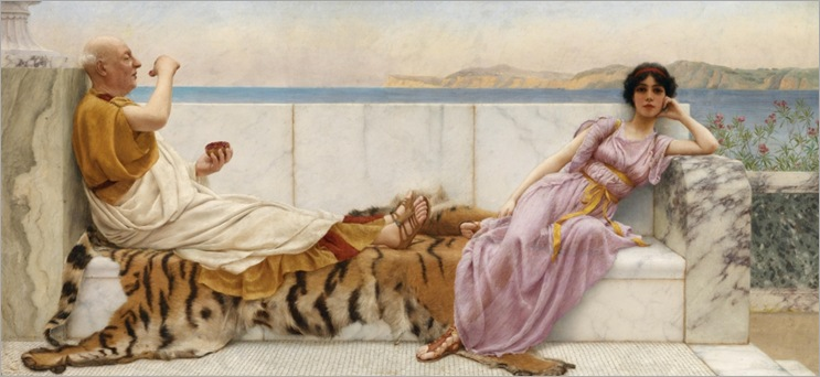 "John William Godward (Wimbledon 1861–1922 London) ""Eighty and eighteen""_1024x470"