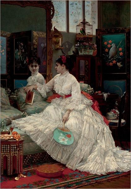 JULES_EMILE_SAINTIN_French_1829_1894_Reflections-1875