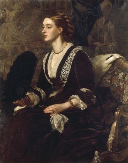 mrs-archibald-milman-Edward-John-Poynter