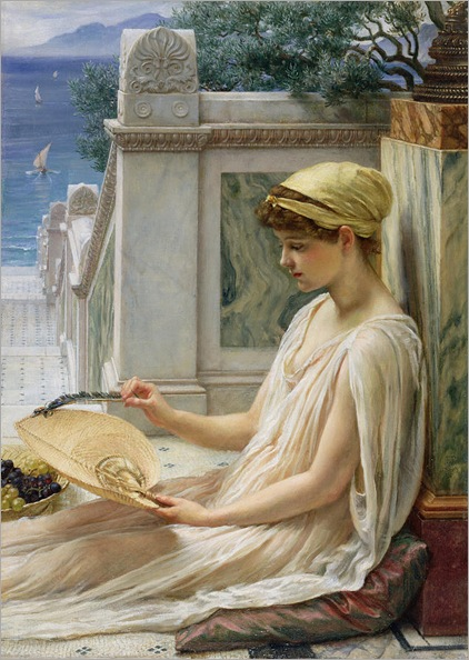 on-the-terrace-sir-edward-john-poynter (1836-1919)