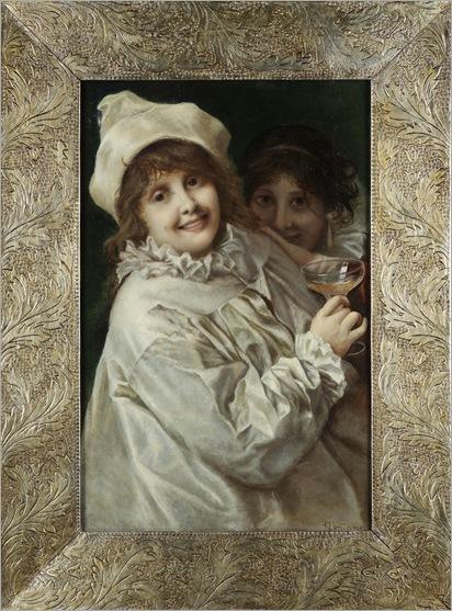 Revellers- Roberto Fontana (Italian, 1844-1907)