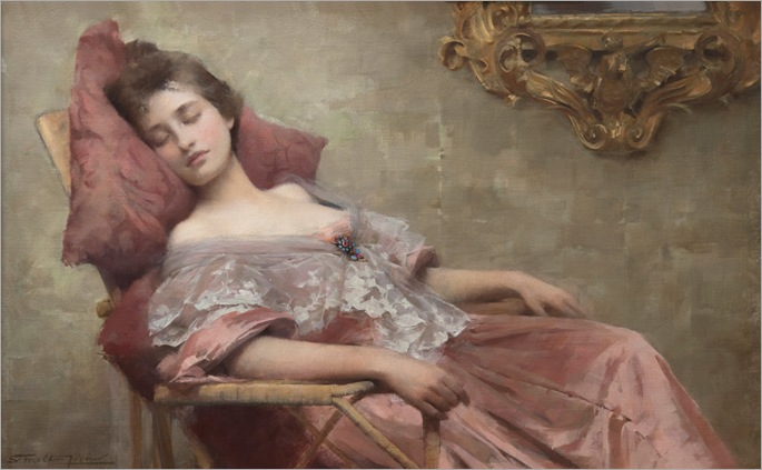 Samuel Melton Fisher (1859-1939) - A sleep