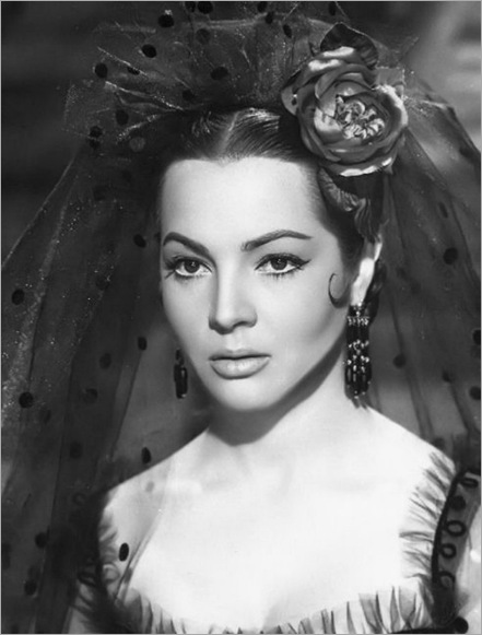 Sara Montiel - In the spanish film Carmen, la de Ronda