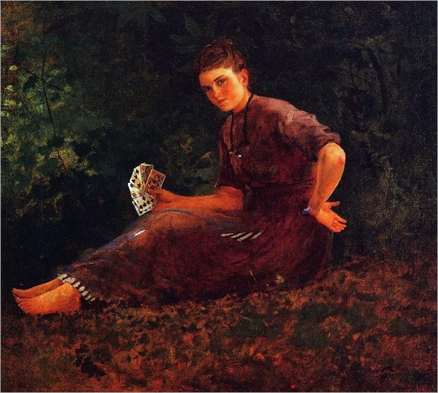 Shall I Tell Your Fortune - Winslow Homer