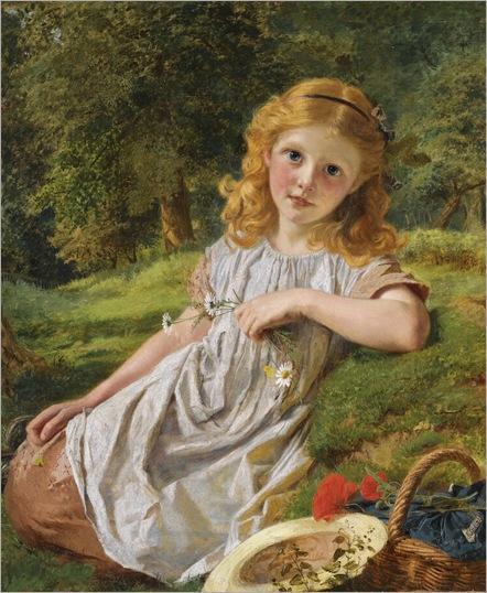 Summer Flowers - Sophie Anderson