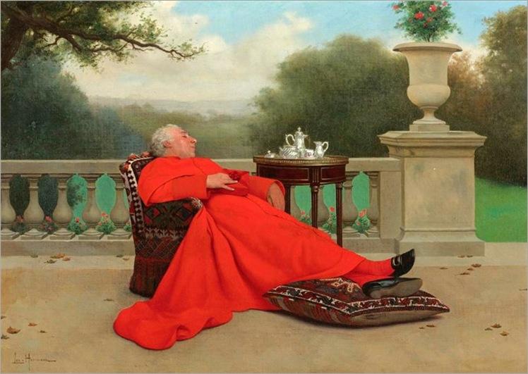 The Cardinal's Nap - Leo Herrmann