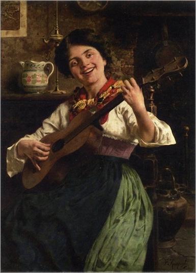 the-serenade-Eugenio_Zampighi