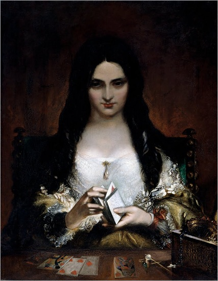 The Wish-by-Theodor von Holst-1840