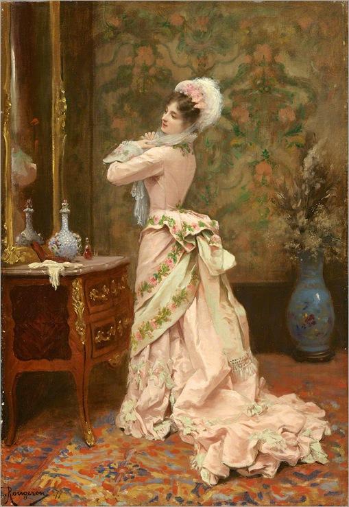 Toilette by Jules James Rougeron, 1877