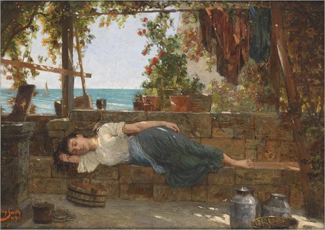 WILLY SMITH (circa 1900) _Leisure Time_1024x725