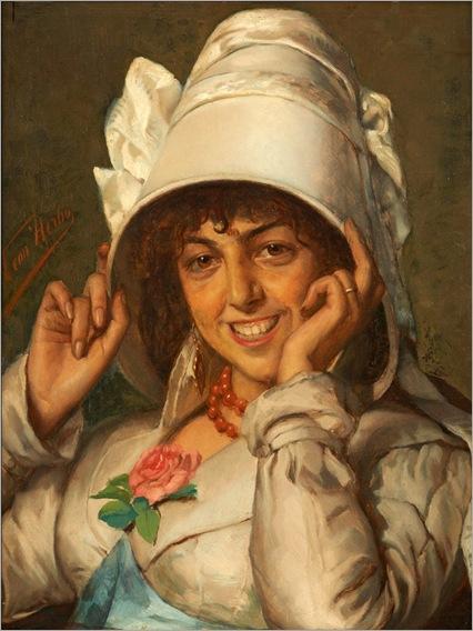 4.Leon Herbo (Belgian, 1850-1907)
