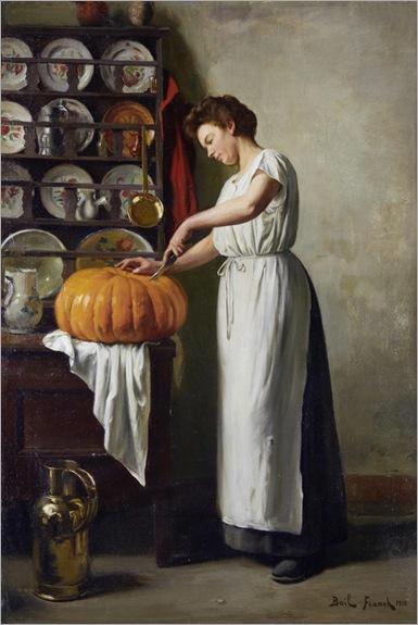 Carving the Pumpkin-by- Franck Antoine Bail